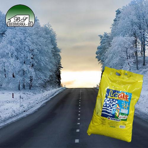 Ledis - za odmrzavanje leda na cestama i putevima