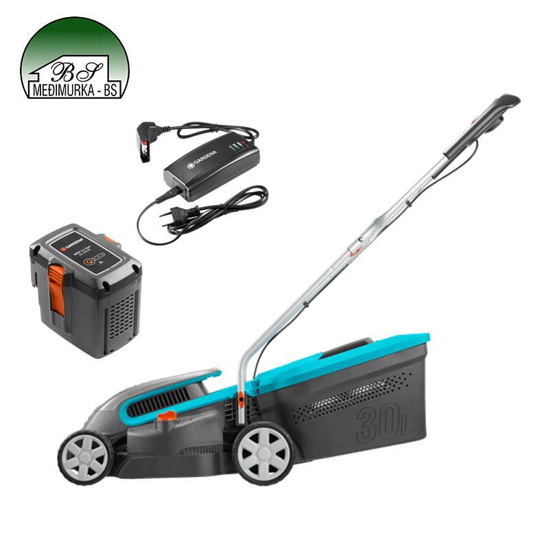 Akumulatorska kosilica PowerMax Li 40/32 Set