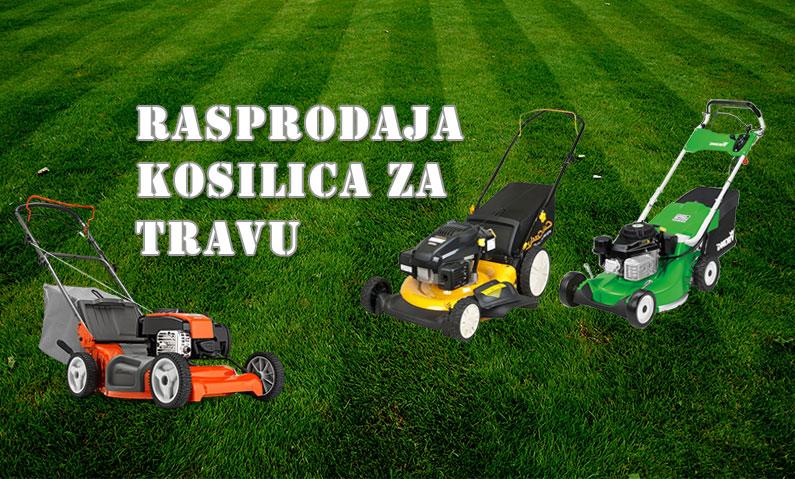 Rasprodaja kosilica za travu