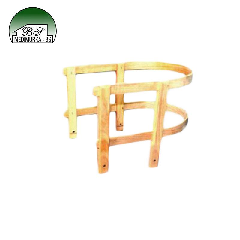 Sjedalica za drvene sanjke