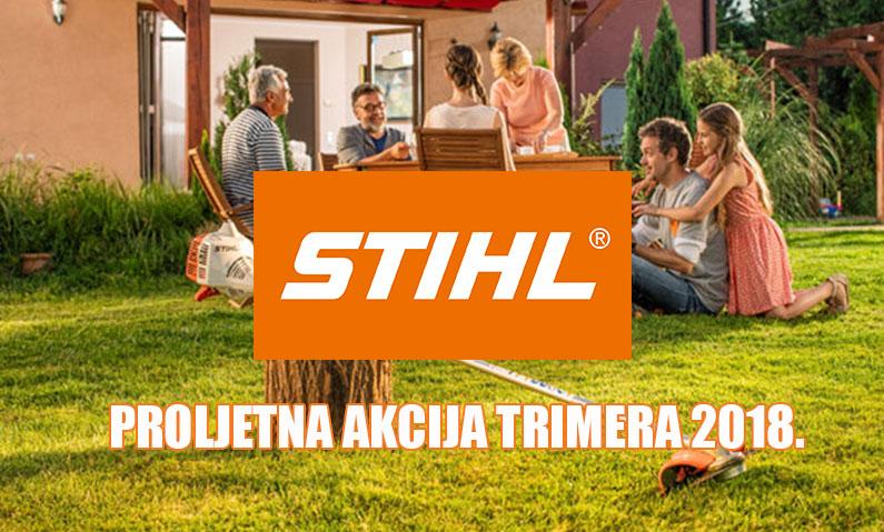 Proljetna akcija STIHL 2018