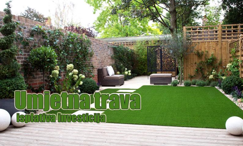 Umjetna trava za savršen izgled travnjaka, terase ili balkona