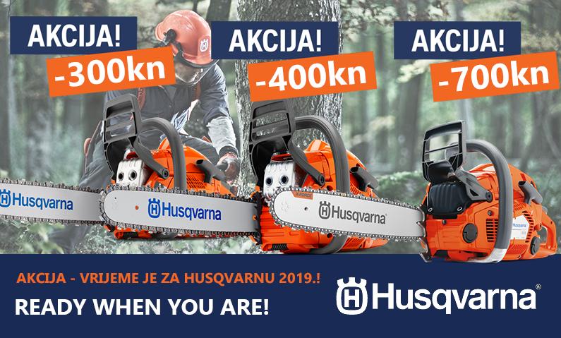 Jesenska akcija Husqvarna motornih pila 2018