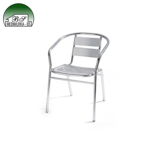 Aluminijski stol i stolice